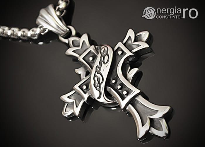 Amuleta_Pandantiv_Cruciulita_Cruce_Crucifix_INOX_PND062-00