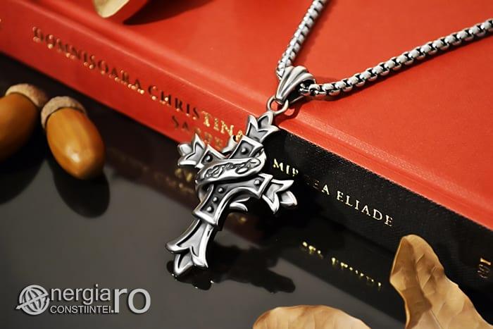 Amuleta_Pandantiv_Cruciulita_Cruce_Crucifix_INOX_PND062-03