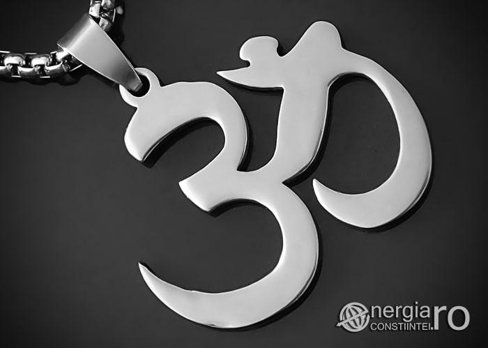 Amuleta_Pandantiv_Hindus_Aum_Om_Simbol_Sacru_INOX_PND012-00