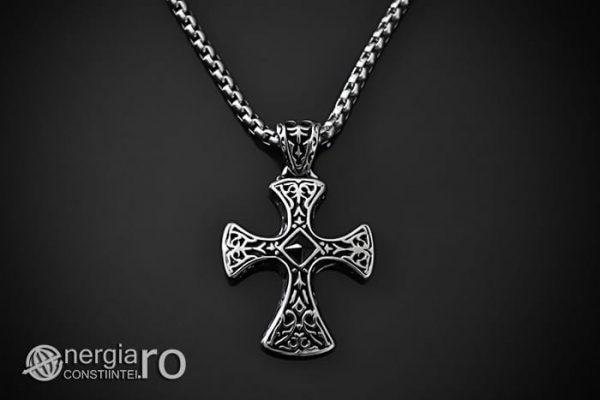 Amuleta_Pandantiv_Cruciulita_Cruce_Celtica_Crucifix_INOX_PND005-01