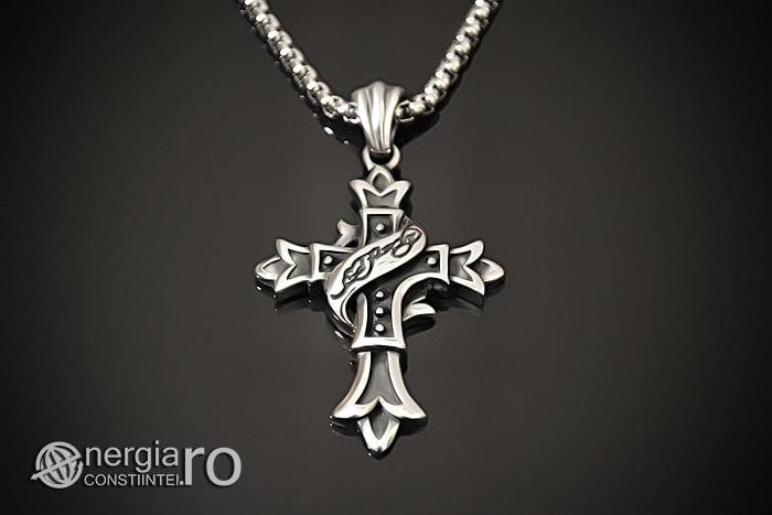 Amuleta_Pandantiv_Cruciulita_Cruce_Crucifix_INOX_PND062-01