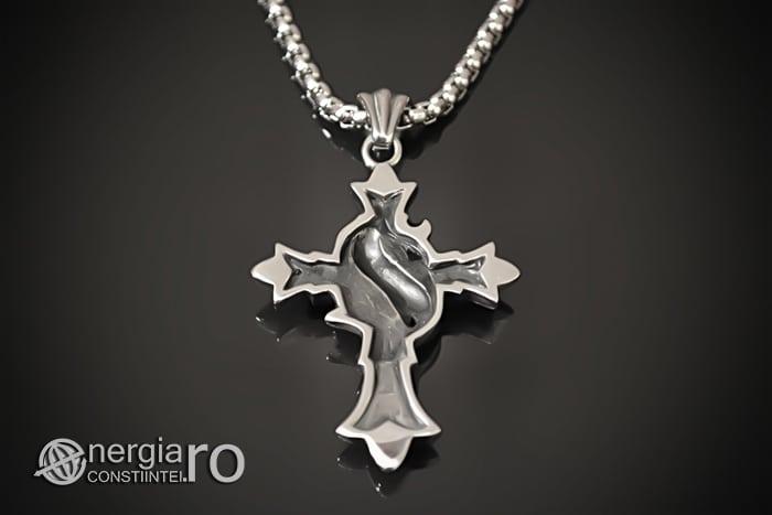 Amuleta_Pandantiv_Cruciulita_Cruce_Crucifix_INOX_PND062-02
