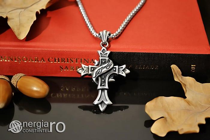 Amuleta_Pandantiv_Cruciulita_Cruce_Crucifix_INOX_PND062-04