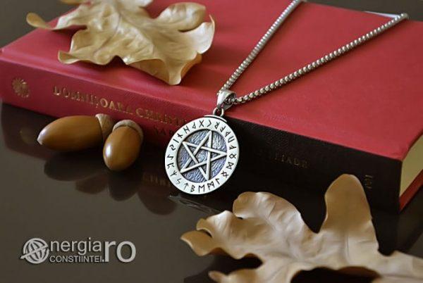 Pandant-Amuleta-Talisman-Pandantiv-Pentagrama-Pentaclu-Protector-Protectie-INOX-PND038-03