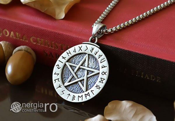Pandant-Amuleta-Talisman-Pandantiv-Pentagrama-Pentaclu-Protector-Protectie-INOX-PND038-04