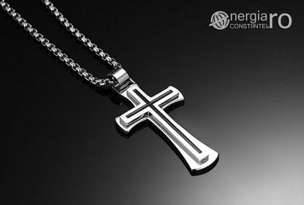 Pandantiv_Amuleta_Cruciulita_Cruce_Crucifix_INOX_PND051_01
