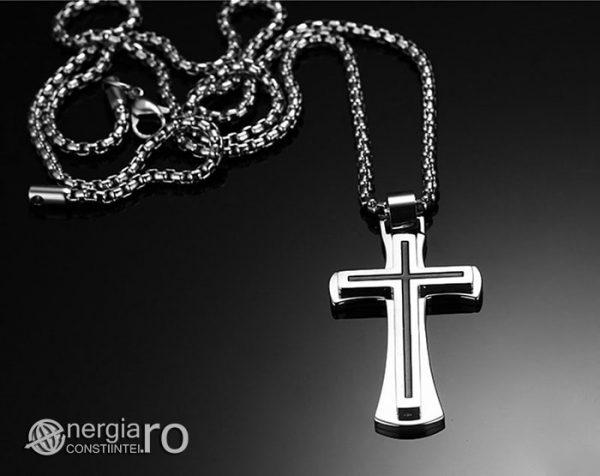 Pandantiv_Amuleta_Cruciulita_Cruce_Crucifix_INOX_PND051_03