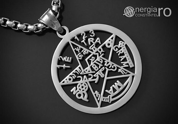 Pandantiv_Pentagrama_Pentaclu_Tetragrammaton_INOX_PND042-00