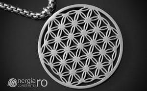 Pandantiv_Floarea_Vietii_Talisman_Amuleta_Medalion_INOX_PND090-00