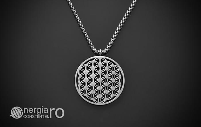Pandantiv_Floarea_Vietii_Talisman_Amuleta_Medalion_INOX_PND090-01