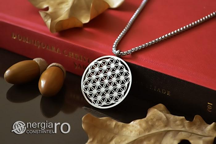 Pandantiv_Floarea_Vietii_Talisman_Amuleta_Medalion_INOX_PND090-03