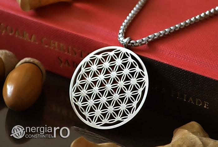 Pandantiv_Floarea_Vietii_Talisman_Amuleta_Medalion_INOX_PND090-04
