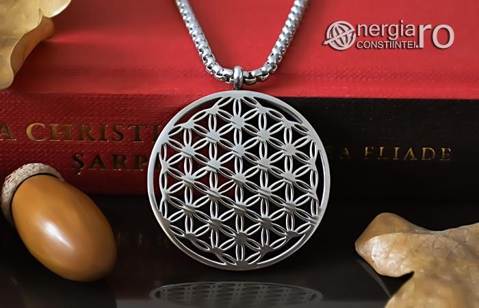Pandantiv_Floarea_Vietii_Talisman_Amuleta_Medalion_INOX_PND090-06