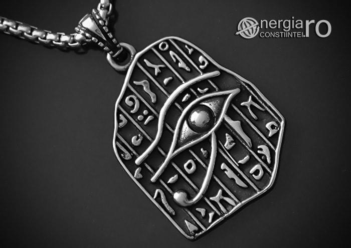 Pandantiv_Ochiul_RA_HORUS_Medalion_Talisman_Amuleta_Simbol_Sacru_INOX_PND014-00