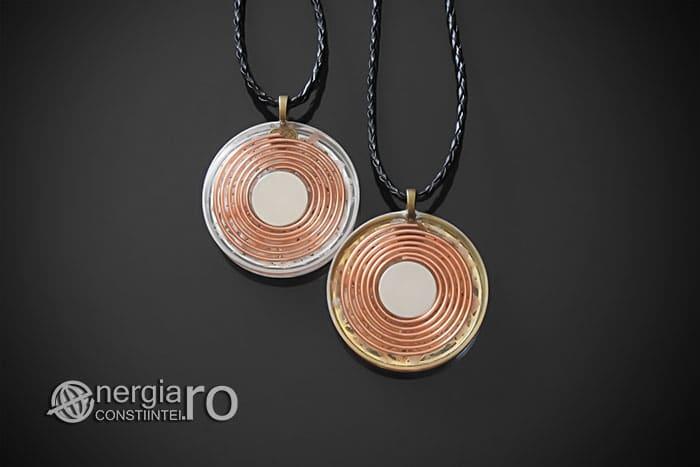 Amuleta-Medalion-Colier-Talisman-Pandant-Pandantiv-Orgonic-Orgon-Floarea-Vietii-Placata-Aur-18k-Argint-925-Cristal-Cuart-Roz-ORG005-02