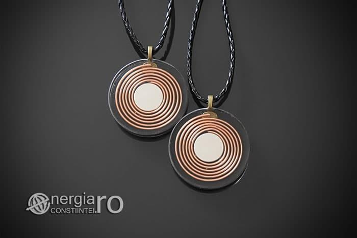 Amuleta-Medalion-Talisman-Pandant-Pandantiv-Orgonic-Orgon-Magnetic-Floarea-Vietii-Placat-Aur-18k-Argint-925-Cenusa-Vulcanica-Turmalina-ORG007-02