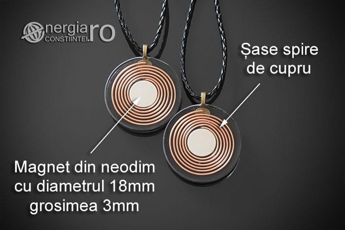 Amuleta-Medalion-Talisman-Pandant-Pandantiv-Orgonic-Orgon-Magnetic-Floarea-Vietii-Placat-Aur-18k-Argint-925-Cenusa-Vulcanica-Turmalina-ORG007-08