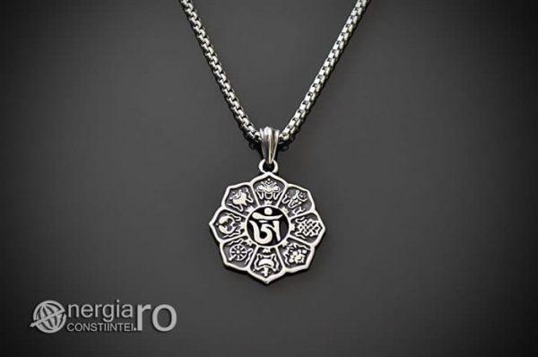 Amuleta-Talisman-Pandantiv-Om-Mani-Padme-Hum-INOX-PND100-01