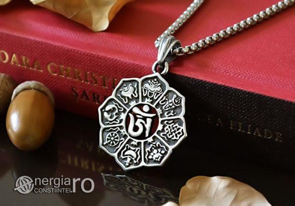 Amuleta-Talisman-Pandantiv-Om-Mani-Padme-Hum-INOX-PND100-04