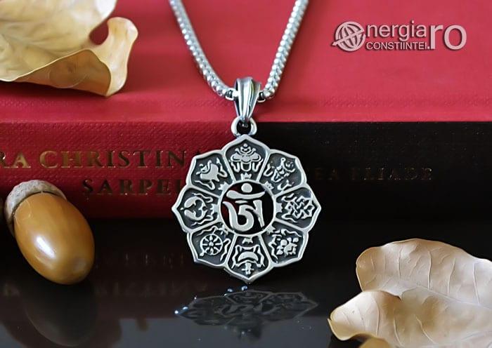 Amuleta-Talisman-Pandantiv-Om-Mani-Padme-Hum-INOX-PND100-06