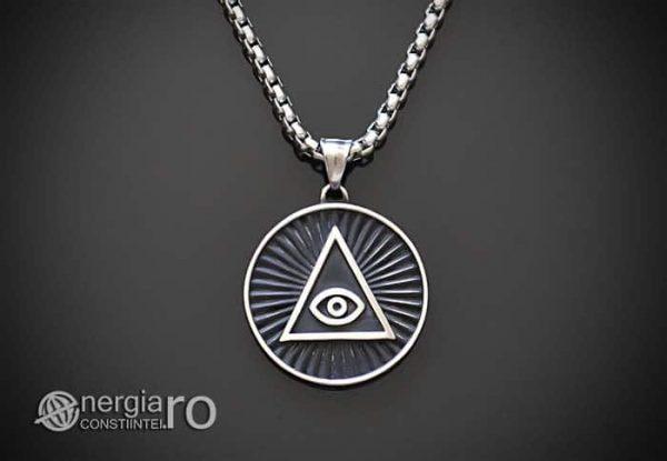 Amuleta_Pandantiv_Triunghi_in_Cerc_Ochiul_Providentei_INOX_PND077-01
