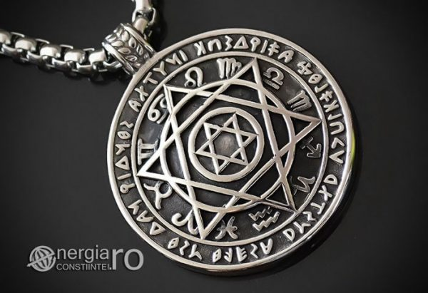 Amuleta_Talisman_Pandantiv_Steaua_Lui_David_Zodiac_Rune_INOX_PND095-00