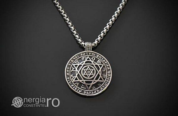 Amuleta_Talisman_Pandantiv_Steaua_Lui_David_Zodiac_Rune_INOX_PND095-01