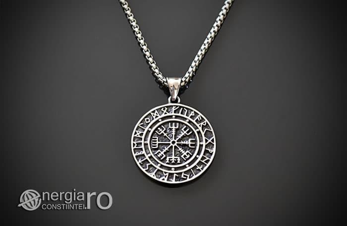 Pandant-Amuleta-Talisman-Medalion-Colier-Pandantiv-Roata-Norocului-cu-Rune-PND105-01