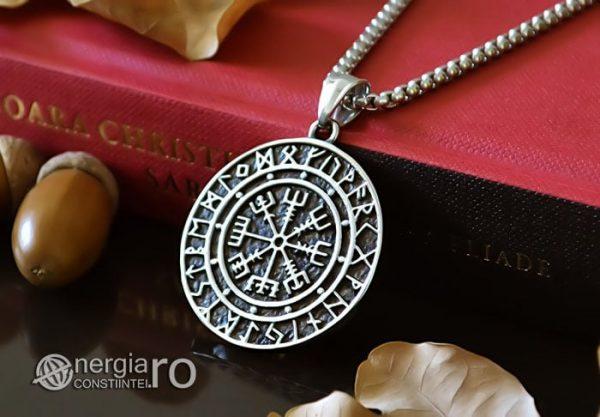 Pandant-Amuleta-Talisman-Medalion-Colier-Pandantiv-Roata-Norocului-cu-Rune-PND105-04