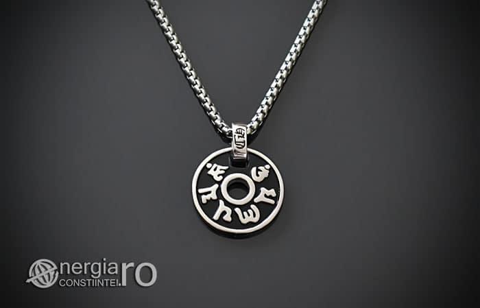 Pandant-Amuleta-Talisman-Pandantiv-Om-Mani-Padme-Hum-INOX-PND101-01