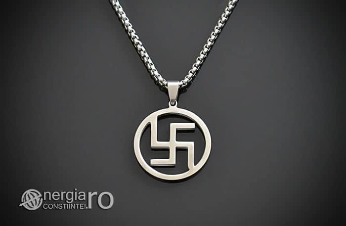Pandant-Amuleta-Talisman-Pandantiv-Svastica-Protector-Protectie-INOX-PND130-01