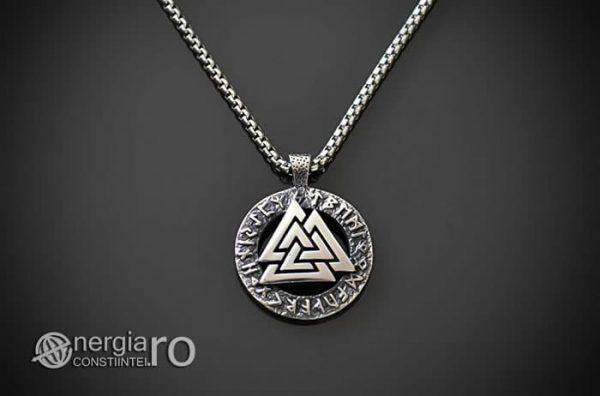 Pandant-Amuleta-Talisman-Protector-Protectie-Valknut-Odin-cu-Rune-INOX-PND110-01