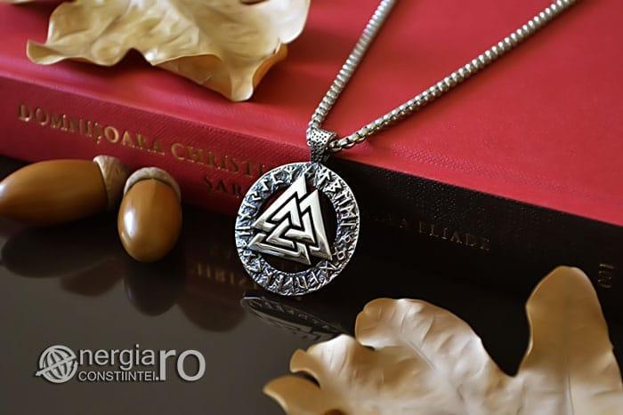 Pandant-Amuleta-Talisman-Protector-Protectie-Valknut-Odin-cu-Rune-INOX-PND110-03