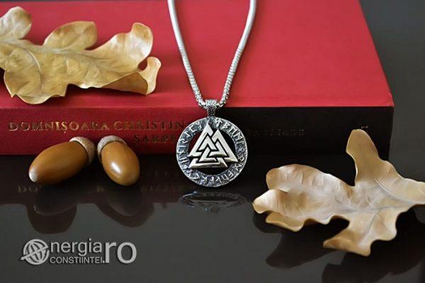 Pandant-Amuleta-Talisman-Protector-Protectie-Valknut-Odin-cu-Rune-INOX-PND110-05
