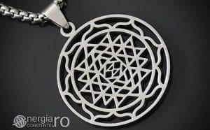 Pandantiv-Sri-Yantra-Amuleta-Talisman-Protectie-Protector-INOX-PND120-00
