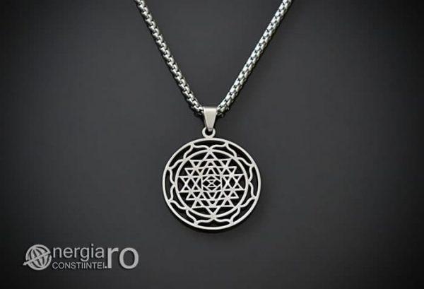 Pandantiv-Sri-Yantra-Amuleta-Talisman-Protectie-Protector-INOX-PND120-01