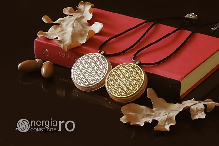 Amuleta-Medalion-Talisman-Pandant-Pandantiv-Orgonic-Orgon-Floarea-Vietii-Placat-Aur-18k-Argint-925-Cristal-Cuart-De-Stanca-PND008-03