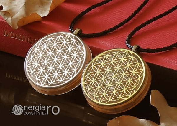 Amuleta-Medalion-Talisman-Pandant-Pandantiv-Orgonic-Orgon-Floarea-Vietii-Placat-Aur-18k-Argint-925-Cristal-Cuart-De-Stanca-PND008-04