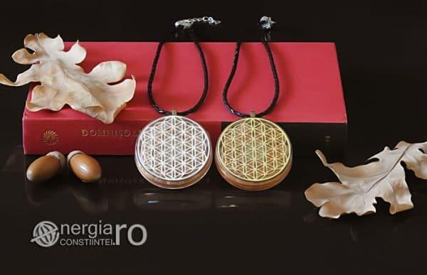 Amuleta-Medalion-Talisman-Pandant-Pandantiv-Orgonic-Orgon-Floarea-Vietii-Placat-Aur-18k-Argint-925-Cristal-Cuart-De-Stanca-PND008-05