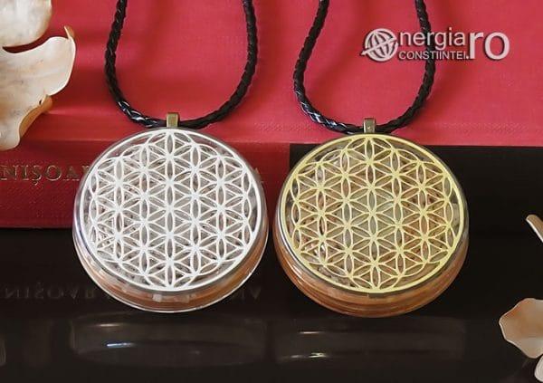Amuleta-Medalion-Talisman-Pandant-Pandantiv-Orgonic-Orgon-Floarea-Vietii-Placat-Aur-18k-Argint-925-Cristal-Cuart-De-Stanca-PND008-06