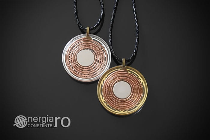 Amuleta-Medalion-Talisman-Pandant-Pandantiv-Orgonic-Orgon-Floarea-Vietii-Protector-Protectie-Placat-Aur-18k-Argint-925-ORG010-02