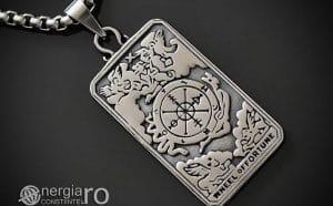 Pandant-Amuleta-Talisman-Medalion-Colier-Pandantiv-Roata-Norocului-cu-Cruciulita-Cruce-PND106-00
