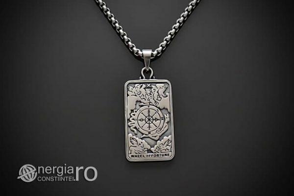 Pandant-Amuleta-Talisman-Medalion-Colier-Pandantiv-Roata-Norocului-cu-Cruciulita-Cruce-PND106-01