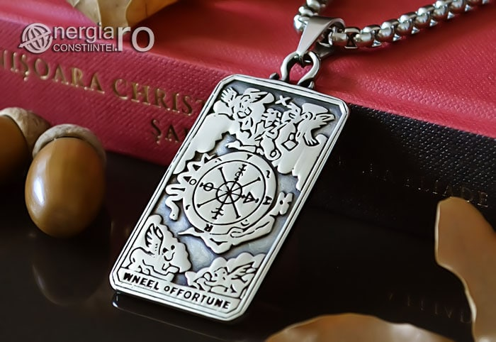 Pandant-Amuleta-Talisman-Medalion-Colier-Pandantiv-Roata-Norocului-cu-Cruciulita-Cruce-PND106-04