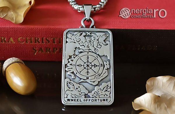 Pandant-Amuleta-Talisman-Medalion-Colier-Pandantiv-Roata-Norocului-cu-Cruciulita-Cruce-PND106-06