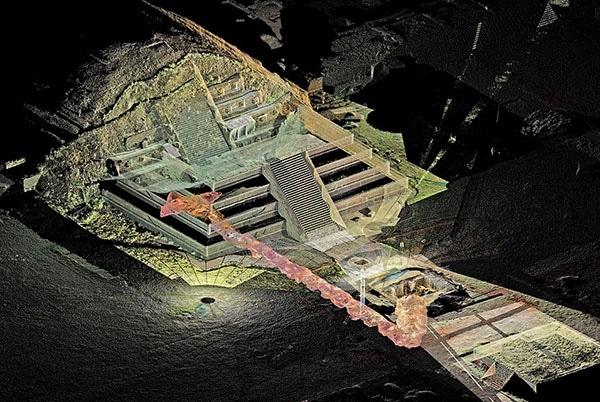 tunelurile-misterioase-de-sub-piramide-schita-tuneluri