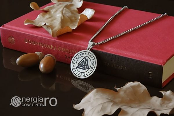 Pandant-Amuleta-Medalion-Talisman-Colier-Pandantiv-Valknut-Odin-Cu-Rune-INOX-PND112-03