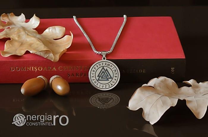 Pandant-Amuleta-Medalion-Talisman-Colier-Pandantiv-Valknut-Odin-Cu-Rune-INOX-PND112-05