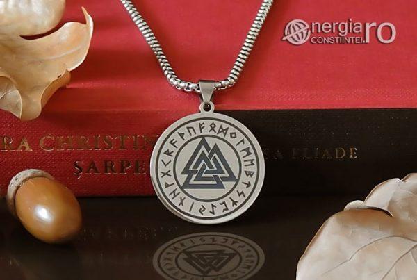 Pandant-Amuleta-Medalion-Talisman-Colier-Pandantiv-Valknut-Odin-Cu-Rune-INOX-PND112-06