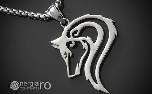 Pandant-Amuleta-Talisman-Colier-Medalion-Pandantiv-Lup-INOX-PND170-00